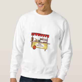 Taco Stand Taqueria Stand Woodcut Sweatshirt