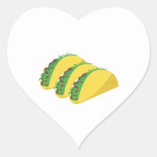 Taco Heart Sticker