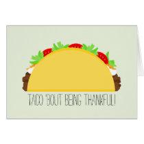 Taco Thank You Card