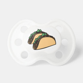 Taco Time Pacifier