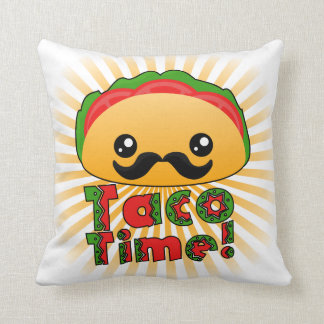 Taco Time Pillow