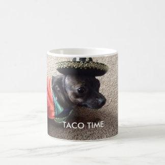 Taco time pooch mug
