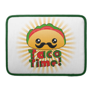 Taco Time Sleeve For MacBooks