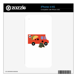 Taco Truck Decal For The iPhone 4