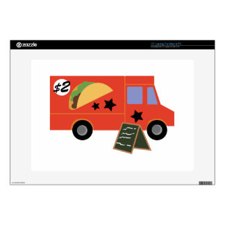 Taco Truck Laptop Decal