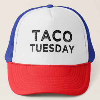 Taco Tuesday funny saying foodie hat