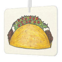 Taco Tuesday Mexican Food Tacos Foodie Gift Air Freshener
