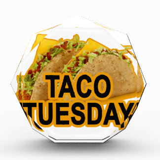 Taco tuesday tshirt.png acrylic award