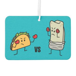 Taco Vs Burrito Air Freshener