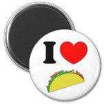 Taco Wear 2 Inch Round Magnet