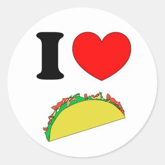 Taco Wear Classic Round Sticker