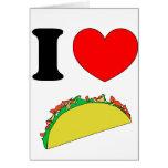 Taco Wear Greeting Card