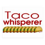 Taco Whisperer Postcard