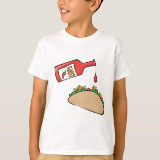 taco with hot sauce T-Shirt