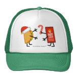 Taco y salsa caliente - navidad gorro