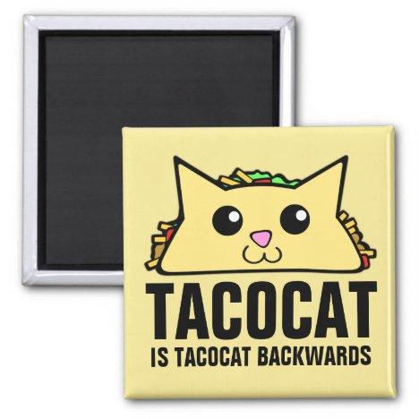 Tacocat Backwards Magnet