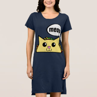 Tacocat Character Dress