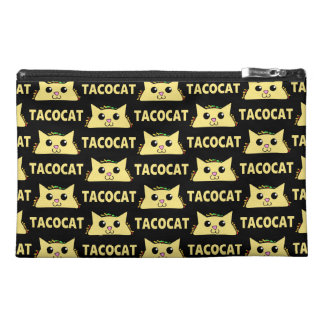 Tacocat Patterned Travel Accessory Bag