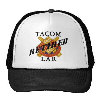 TACOM LAR Retired Trucker Hat