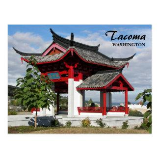 Tacoma Chinese Park Travel Photo Postcard