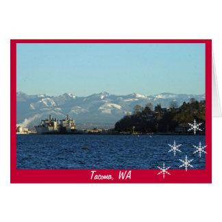 Tacoma Foothills Christmas Card