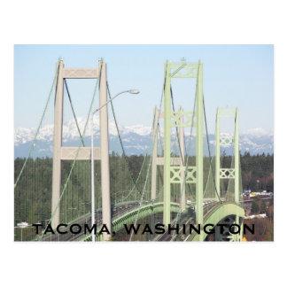 Tacoma Narrows Bridges Postcard