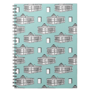 Tacoma Public Library in Teal Notebooks