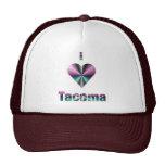 Tacoma -- Púrpura y turquesa Gorras