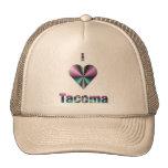 Tacoma -- Púrpura y turquesa Gorros Bordados