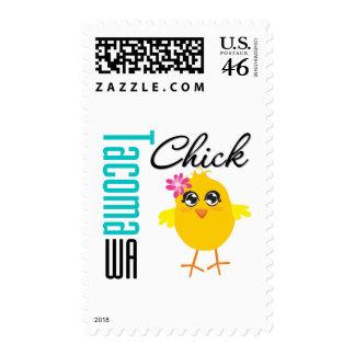 Tacoma WA Chick Postage Stamps