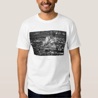 Tacoma, WA View of Business District from Air T Shirt