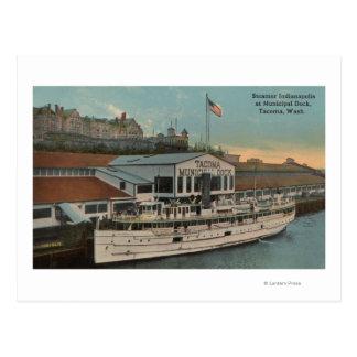 Tacoma, WA - View of Municipal Post Card