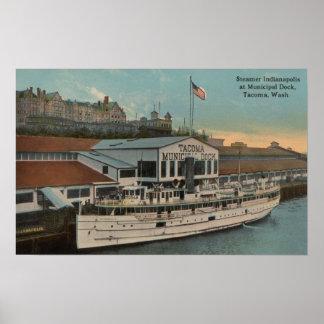 Tacoma, WA - View of Municipal Posters