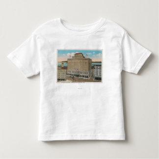 Tacoma, WA - vista del hotel Winthrop T-shirts