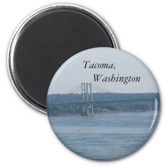 Tacoma, Washington 2 Inch Round Magnet