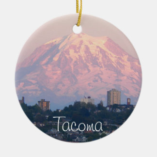 Tacoma, Washington Photo Ceramic Ornament