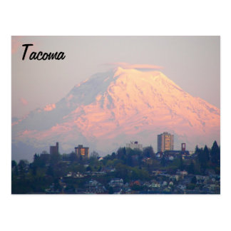 Tacoma, Washington Travel Postcard