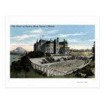 Tacoma, Washington - View of High School Post Cards