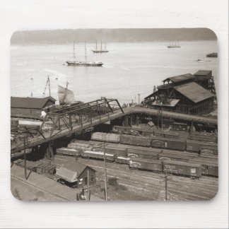 Tacoma Waterfront  from Stadium Way 1899 Mouse Pad
