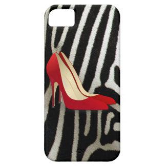 tacones altos rojos iPhone 5 Case-Mate carcasa