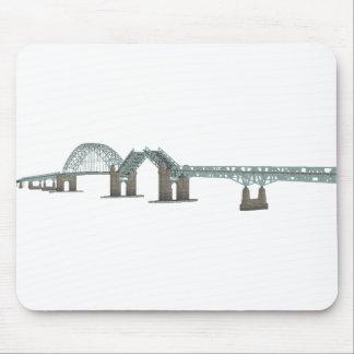Tacony Palmyra Bridge: 3D Model: Mouse Pad