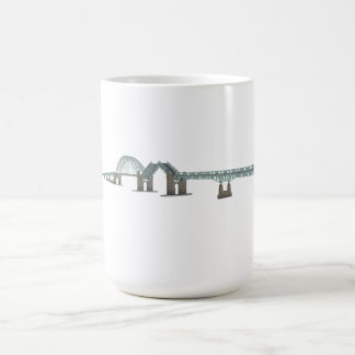 Tacony Palmyra Bridge: 3D Model: Classic White Coffee Mug