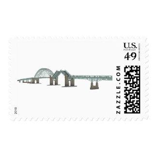 Tacony Palmyra Bridge: 3D Model: Stamps