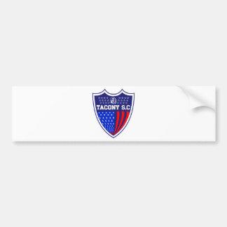 Tacony Soccer Car Bumper Sticker
