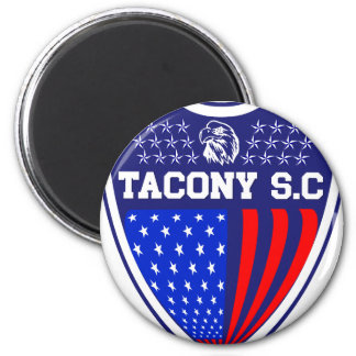 Tacony Soccer 2 Inch Round Magnet