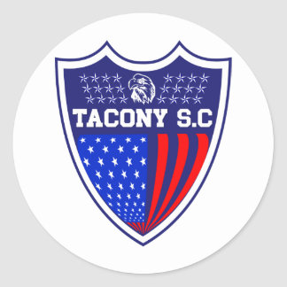 Tacony Soccer Classic Round Sticker