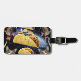 Tacos and Cats Tag For Luggage