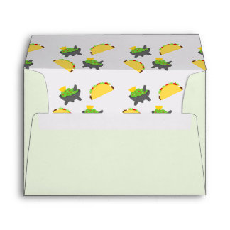 Tacos and Guacamole Envelope