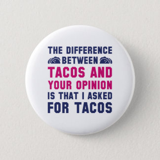 Tacos And Your Opinion Button