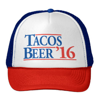 Tacos Beer '16 campaign hat